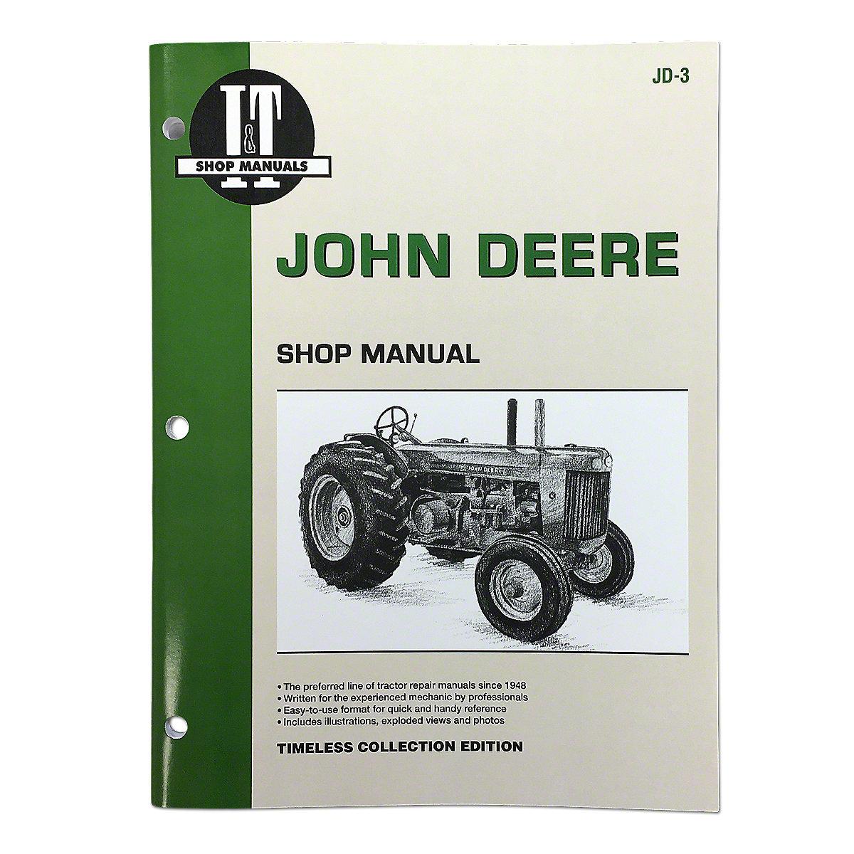 i t shop service manual jd3 rh steinertractor com Case IH Tractor Manual Ford Tractor Manuals