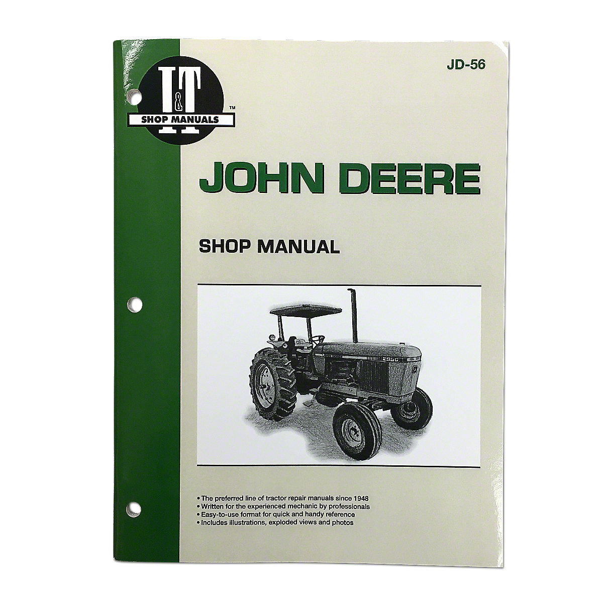 I & T Shop Service Manual. In Stock. JD56