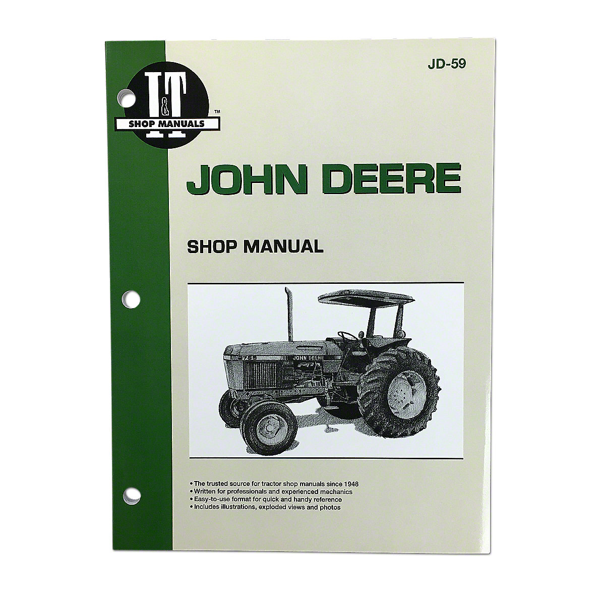JD59 I & T Shop Service Manual