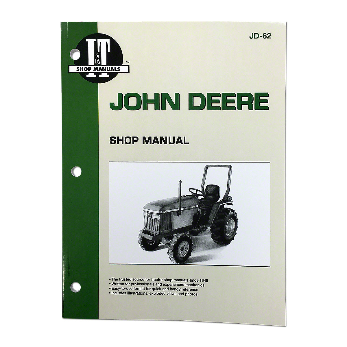 I  U0026 T Shop Service Manual Jd62