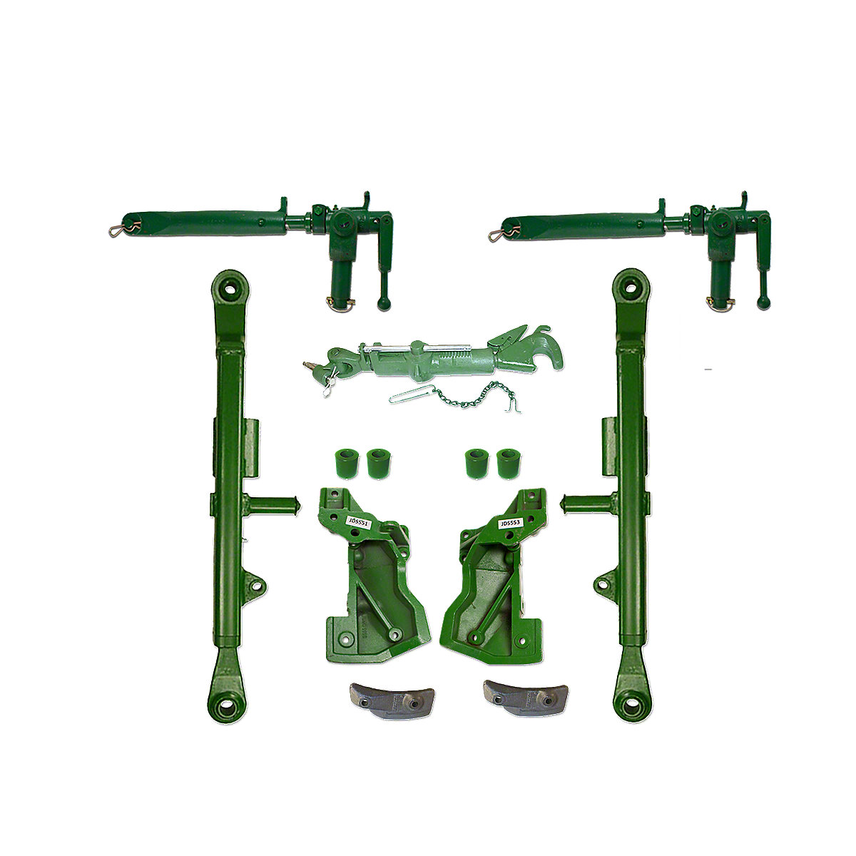 Ih 340 Tractor 3pt Telescoping Lift Arms : Jds john deere oem style point hitch kit