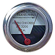 JDS2683 - Transmission Oil Pressure Gauge