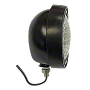 JDS3021 - 12-Volt Front Rear Floodlight with Rubber Bezel (Hobbs Style)