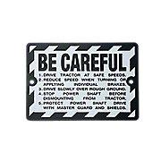 JDS312 - Be Careful Plate