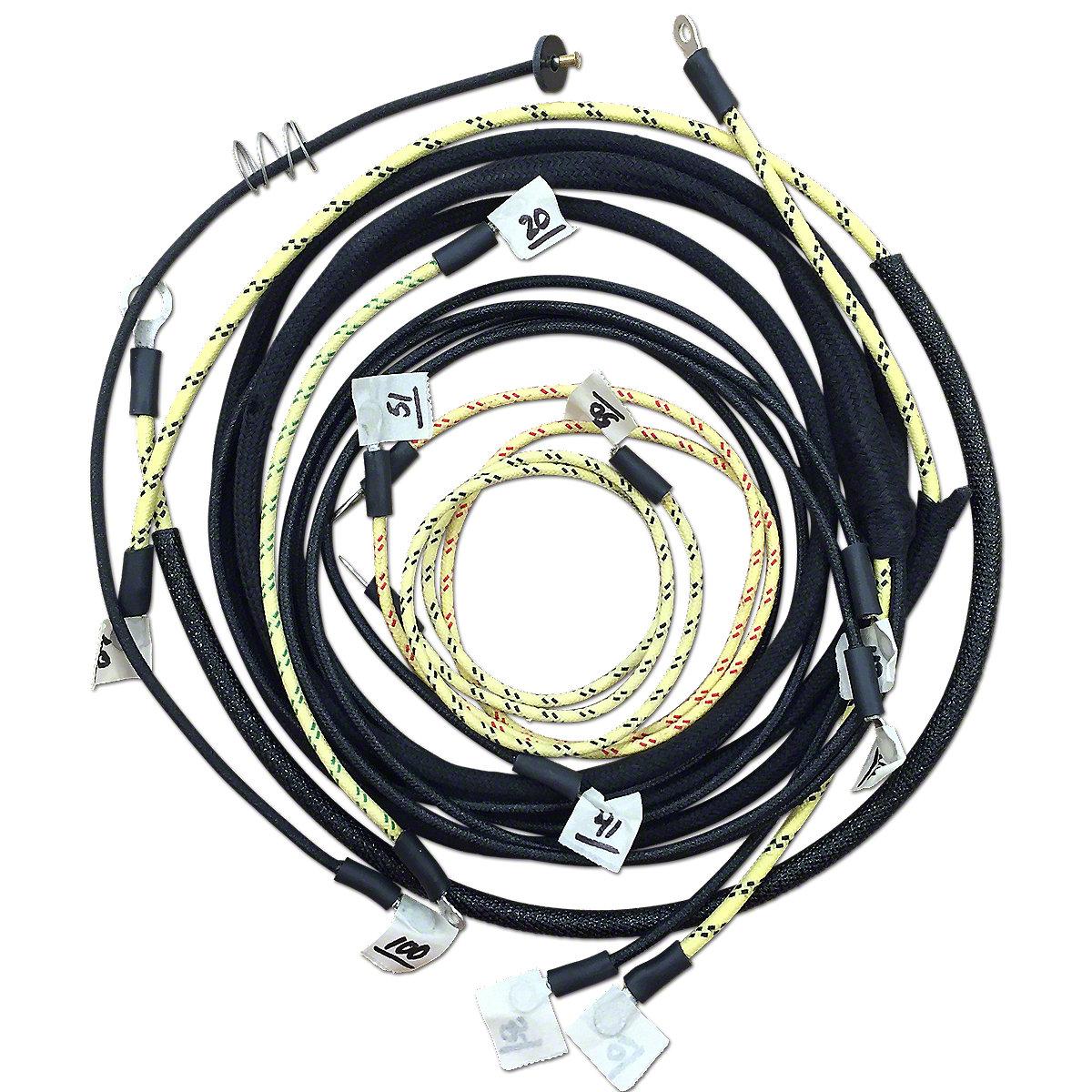 restoration quality wiring harness jds3563