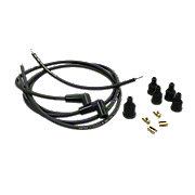 JDS4335 - Spark Plug Wiring Set with 90 degree Boots, 2-cyl.