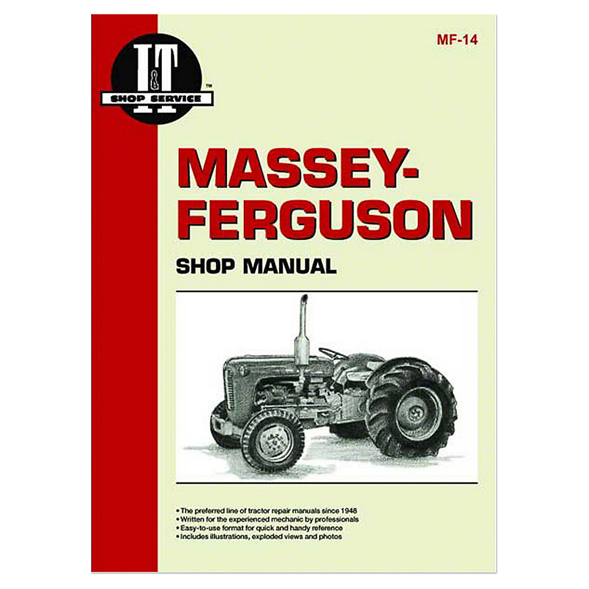 mf14 i t shop service manual rh steinertractor com Tractor Manual Thickness Ford Tractor Manuals