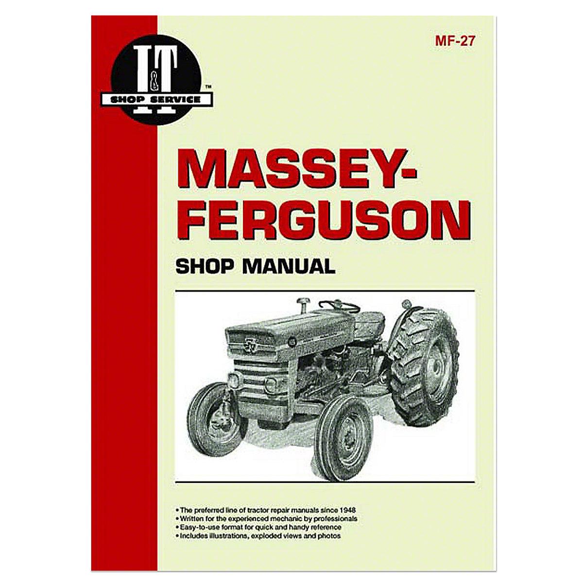 mf27 i t shop service manual rh steinertractor com Massey Ferguson 165 Parts Diagram 165 Massey Ferguson Tractor with Loader