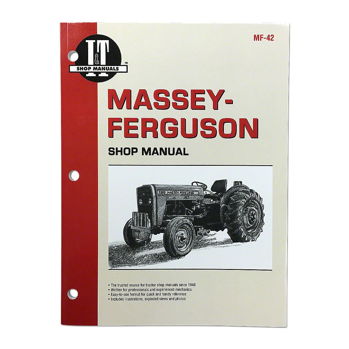 MF42I & T Shop Service Manual