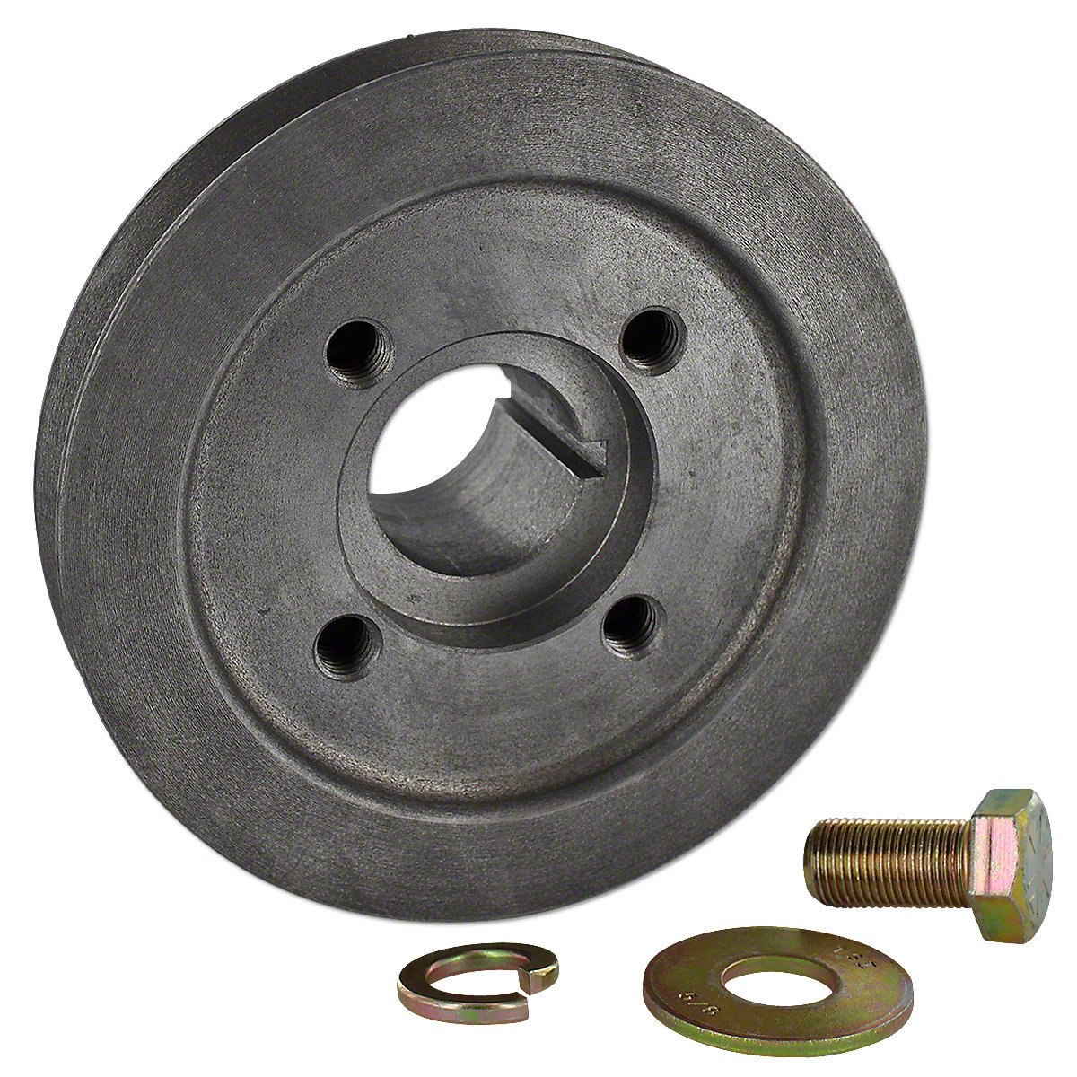 MFS112 Front Crankshaft Pulley (Ductile iron)