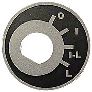 MFS164 - Ignition & Light Index Switch Plate