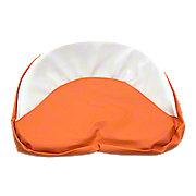 MIS006AC - Tractor Seat Pad  ---  Orange & White