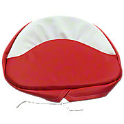 MIS006B - Tractor Seat Pad  ---  Red & White
