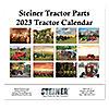 12 Month Tractor Calendar | 2018 Steiner Tractor Parts Calendar | MIS112