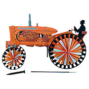 MIS130 - Allis Chalmers Tractor Spinner (Yard Ornament)