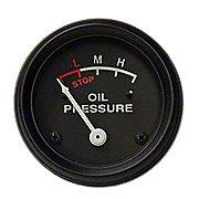 NJD864 - Oil Pressure Gauge (0-30 PSI) - Engine mounted