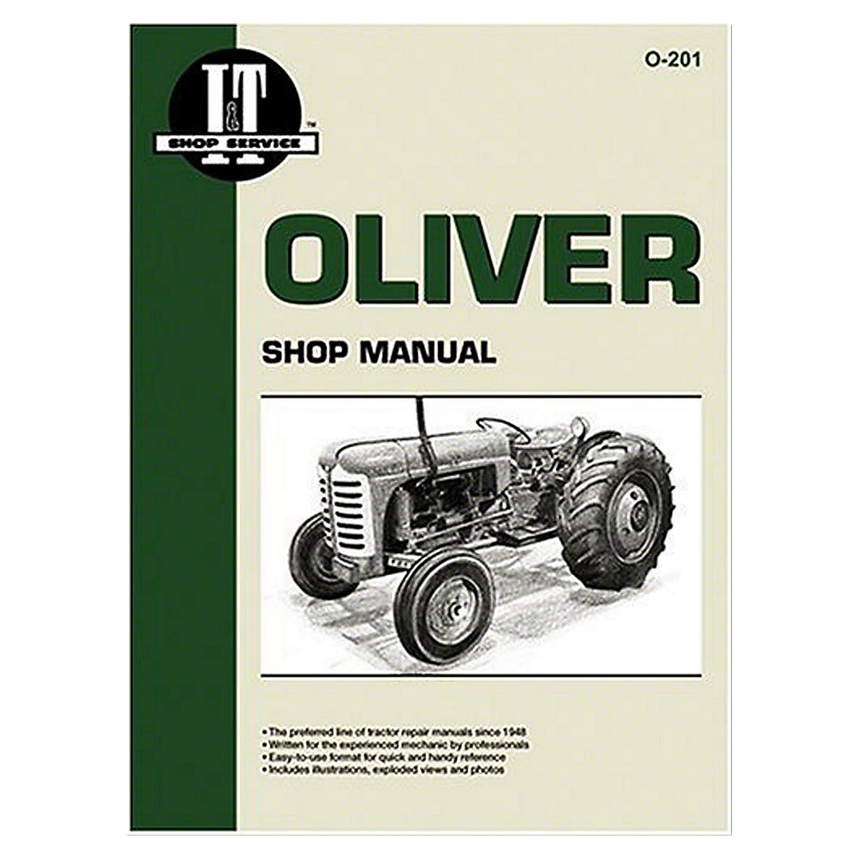 o201 i t shop service manual rh steinertractor com Oliver 880 Seat For a 880 Oliver Tractor Decals