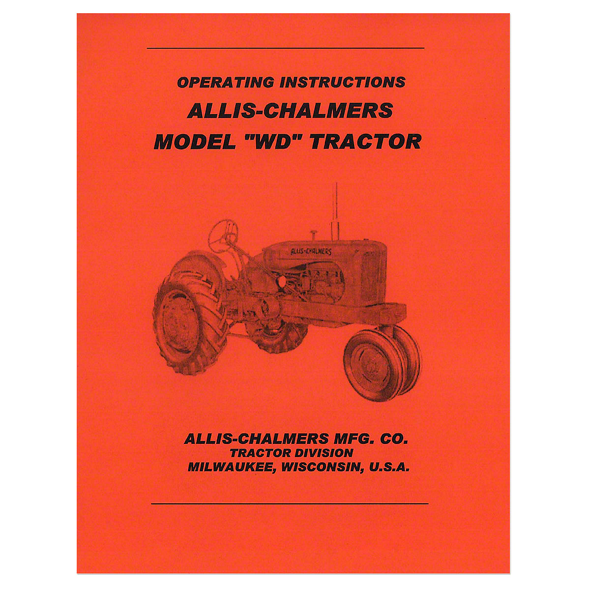 Rep003 operators manual for wd allis chalmers asfbconference2016 Images