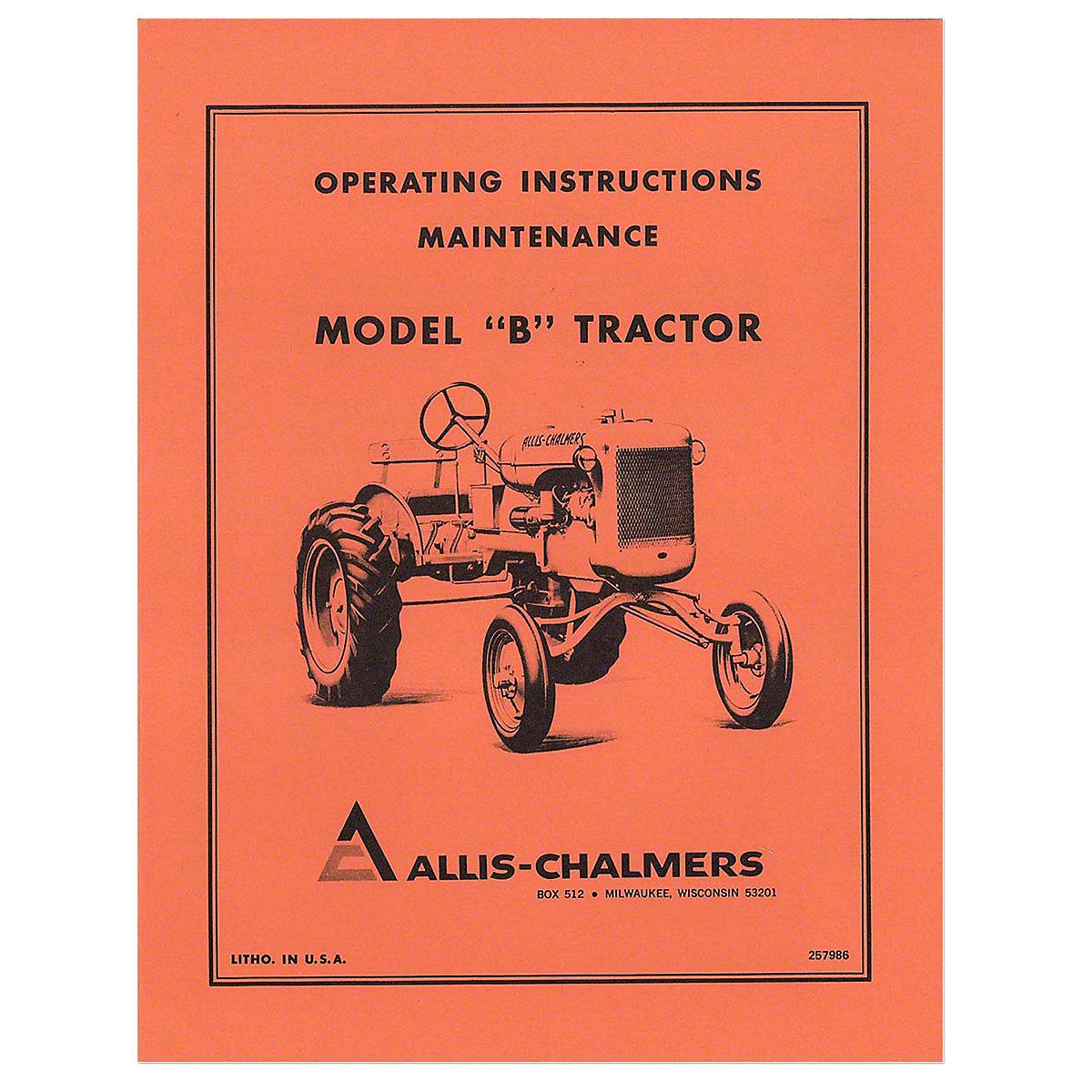 REP031?$lg$ ac b parts manual allis chalmers c parts manual allis b or c