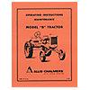 REP031 - OPERATORS MANUAL REPRINT: AC B