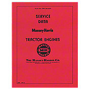 REP060 - Manual -- MH Service Data For Tractor Engines