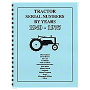 REP072 - Tractor Serial Numbers (1940-1975)