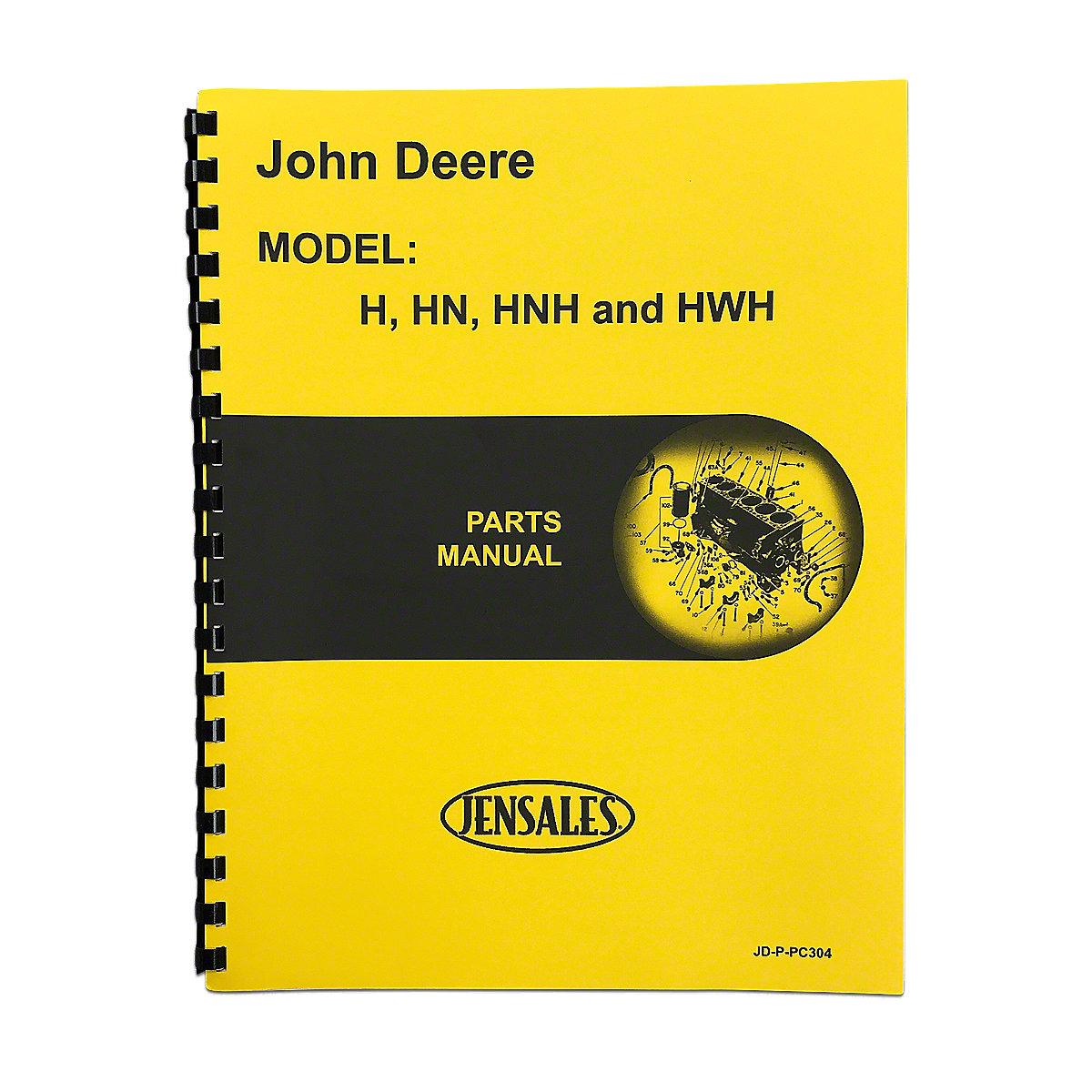 John Deere H Parts Diagram Electrical Wiring Diagrams Alternator Manuals Omview Rep1408 Manual 4030