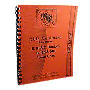 REP1734 - Allis Chalmers B, C, IB Tractors, B-125 Power Unit, Parts Manual