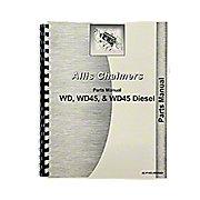 REP1739 - Allis Chalmers WD, WD45  Parts Manual
