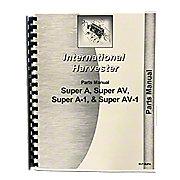 REP1745 - International Harvester Farmall Super A Parts Manual