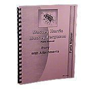 REP1803 - Massey Harris Pony Parts Manual Reprint