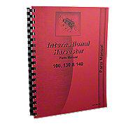 REP1806 - International 100, 130, 140 Parts Manual Reprint