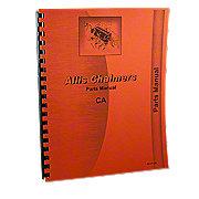REP1815 - Allis Chalmers CA Parts Manual Reprint