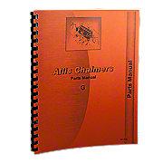 REP1817 - Allis Chalmers G Parts Manual Reprint