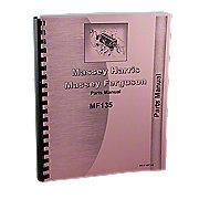 REP1819 - Massey Ferguson 135 Gas And Diesel Parts Manual