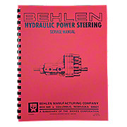 REP2652 - Behlen Power Steering Service & Parts Manual