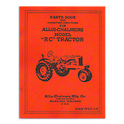REP2967 - Parts and Operators Manual Reprint: Allis Chalmers RC