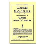 REP2969 - Operators Manual Reprint: Case L