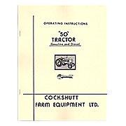 REP2975 - Operators Manual Reprint: Cockshutt 50