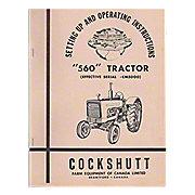 REP2981 - Operator Manual Reprint: Cockshutt 560