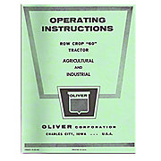 REP2987 - Operator and Parts Manual Reprint: Oliver 60
