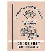 REP2989 - Operators Manual Reprint: Cockshutt 35, Blackhawk 35