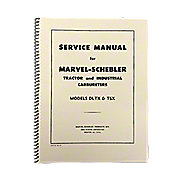 REP4082 - Marvel Schebler TSX & DLTX Carburetor Service Manual Reprint