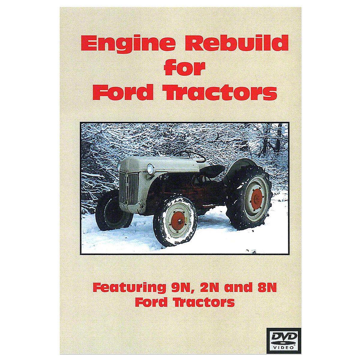 Bok040 Ford 8n Operators Manual Repr Engine Diagram 9n 2n Rebuild Video Dvd