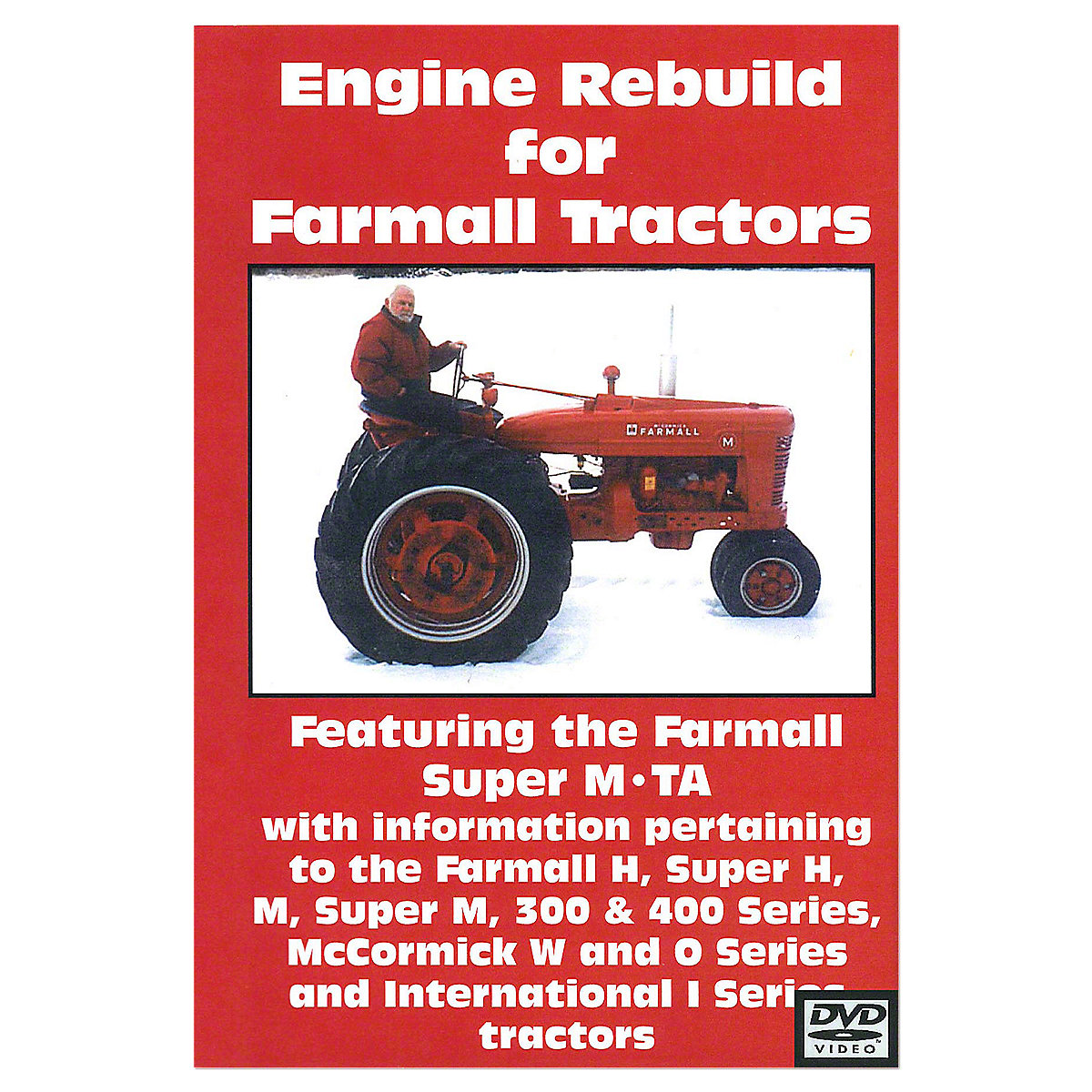 Rep101 Operators Manual Farmall Supe Wiring Diagram For Super H M 300 400 Engine Rebuild Video Dvd