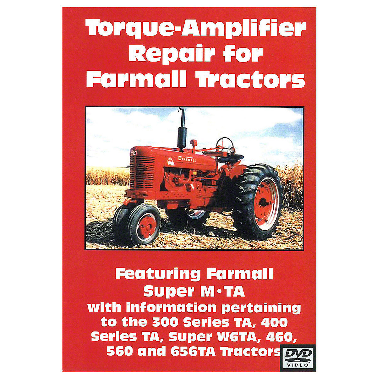 Farmall Torque-Amplifier Repair Video (Dvd)