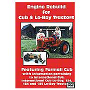 VID19D - Cub & Cub Loboy  Engine Rebuild Video (Dvd)