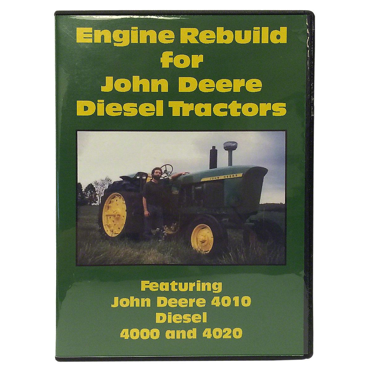VID3425DJD Engine Rebuild Video (DVD)