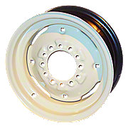6 x 15 (6 Lug) Front Wheel with (4) wheel weight holes