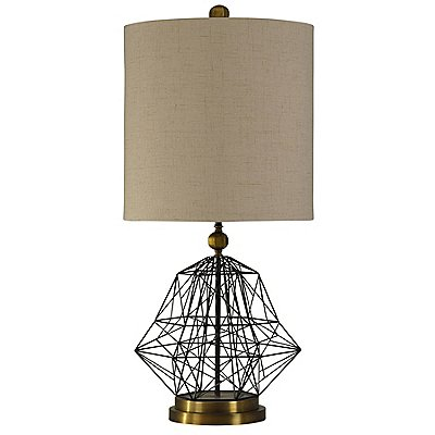 Boxing Week Preview Fin Table Lamp Gold 38in